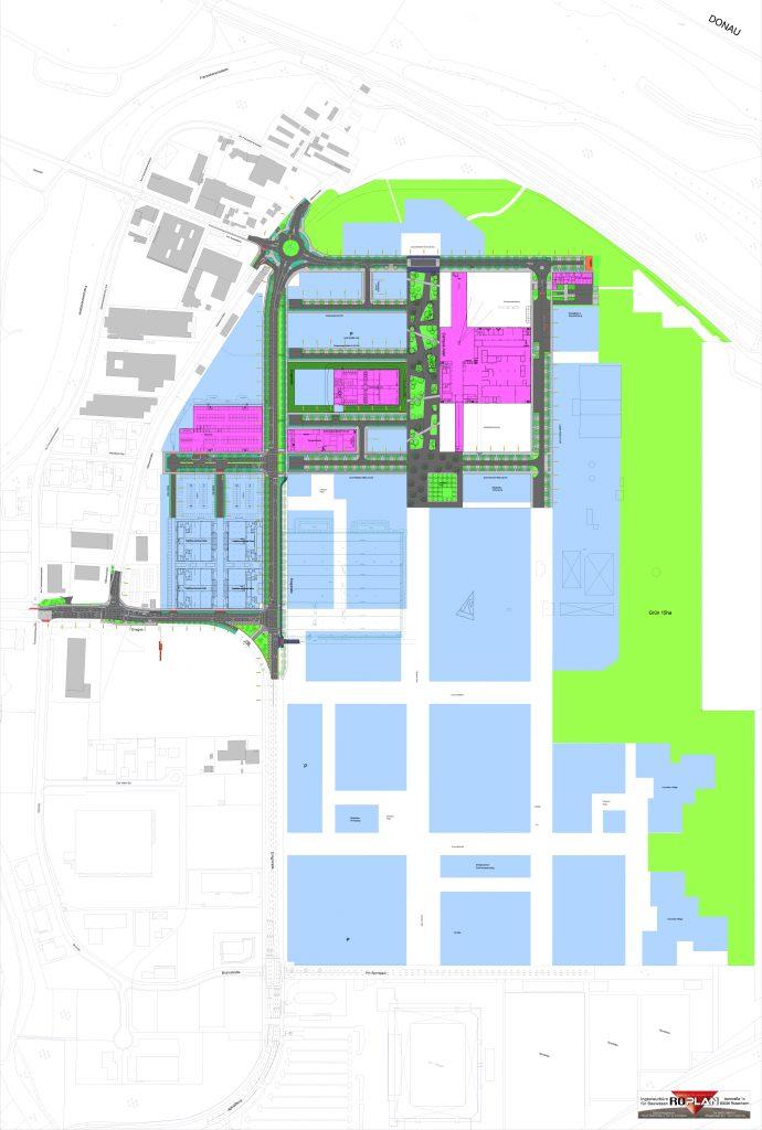 IN-Campus Lageplan