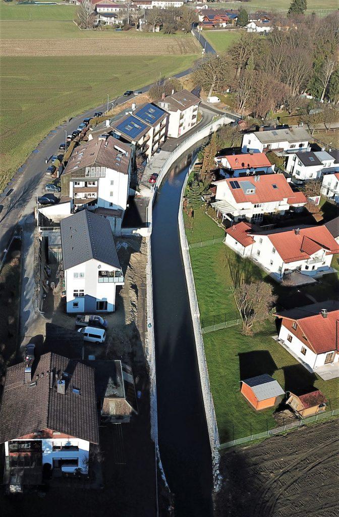 Ausbau Herderbach in Rosenheim