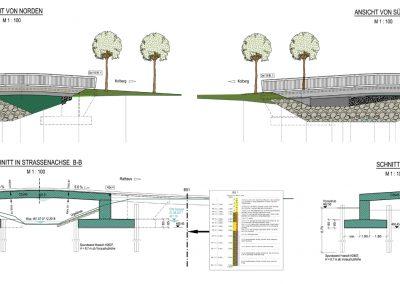 Neubau der Rottbrücke in Großkarolinenfeld