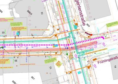 Austausch Mischwasserkanal DN 1600 in der Samerstraße in Rosenheim