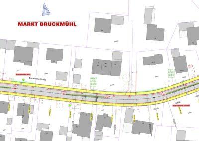 Ausbau der Bruckmühler Str. in Bruckmühl