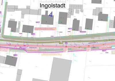 Auswechslung Mischwasserkanal DN1400 in der Regensburger Str. in Ingolstadt